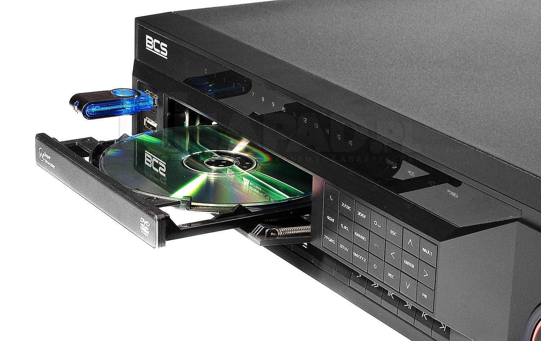 Archiwizacja za pomocą pamięci zewnętrznej i nagrywarki DVD.