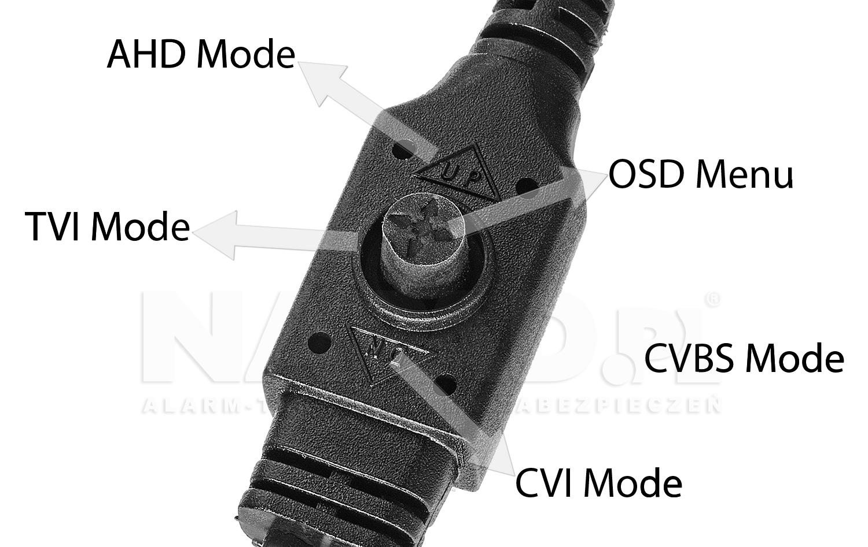 BCS-DMQ4200IR3 - Zmiana trybu pracy kamery.