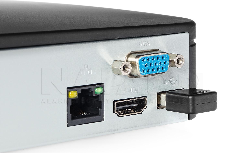Współpraca karty WIFI z DVR, NVR firmy BCS.