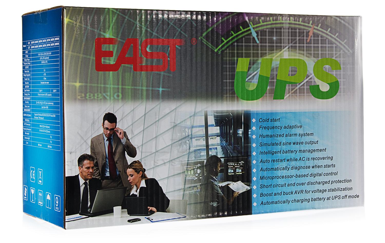 Opakowanie zasilacza EAST UPS-850-LED