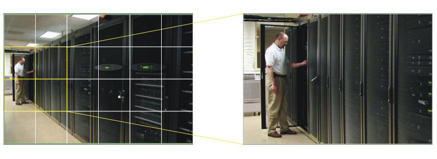 Działanie funkcji motion w kamerze IPOX.