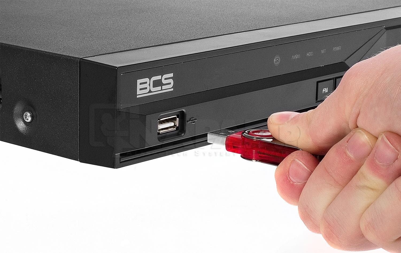 Wykorzystanie pendriva do archiwizacji nagrań z rejestratorów cyfrowych.