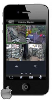 Aplikacja DMSS na iPhone