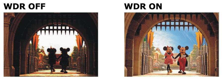 Zastosowanie funkcji WDR