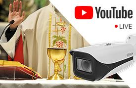 Transmisja LIVE do YouTube z kamer IP przez RTMP