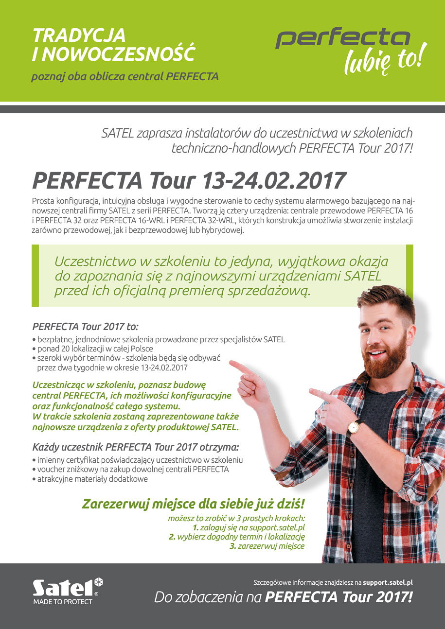 Satel Perfecta Tour 2017