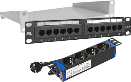 RACK SYSTEMS - Akcesoria szaf 10-calowych.