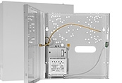Burglary and assult signalling system enclosures