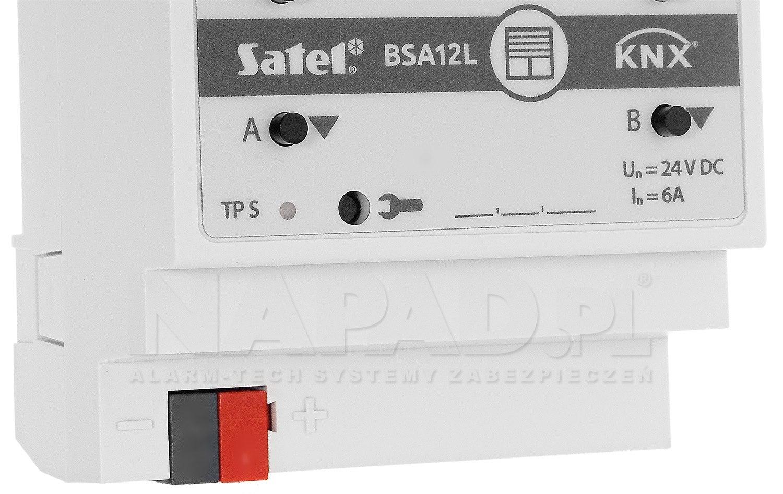 Aktor żaluzjowy KNX-BSA12L