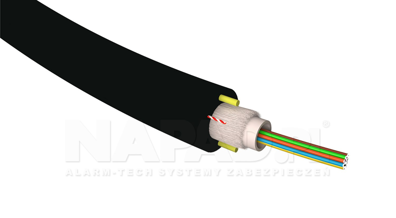 Kabel światłowodowy SM 4J G652D DUCT HDPE