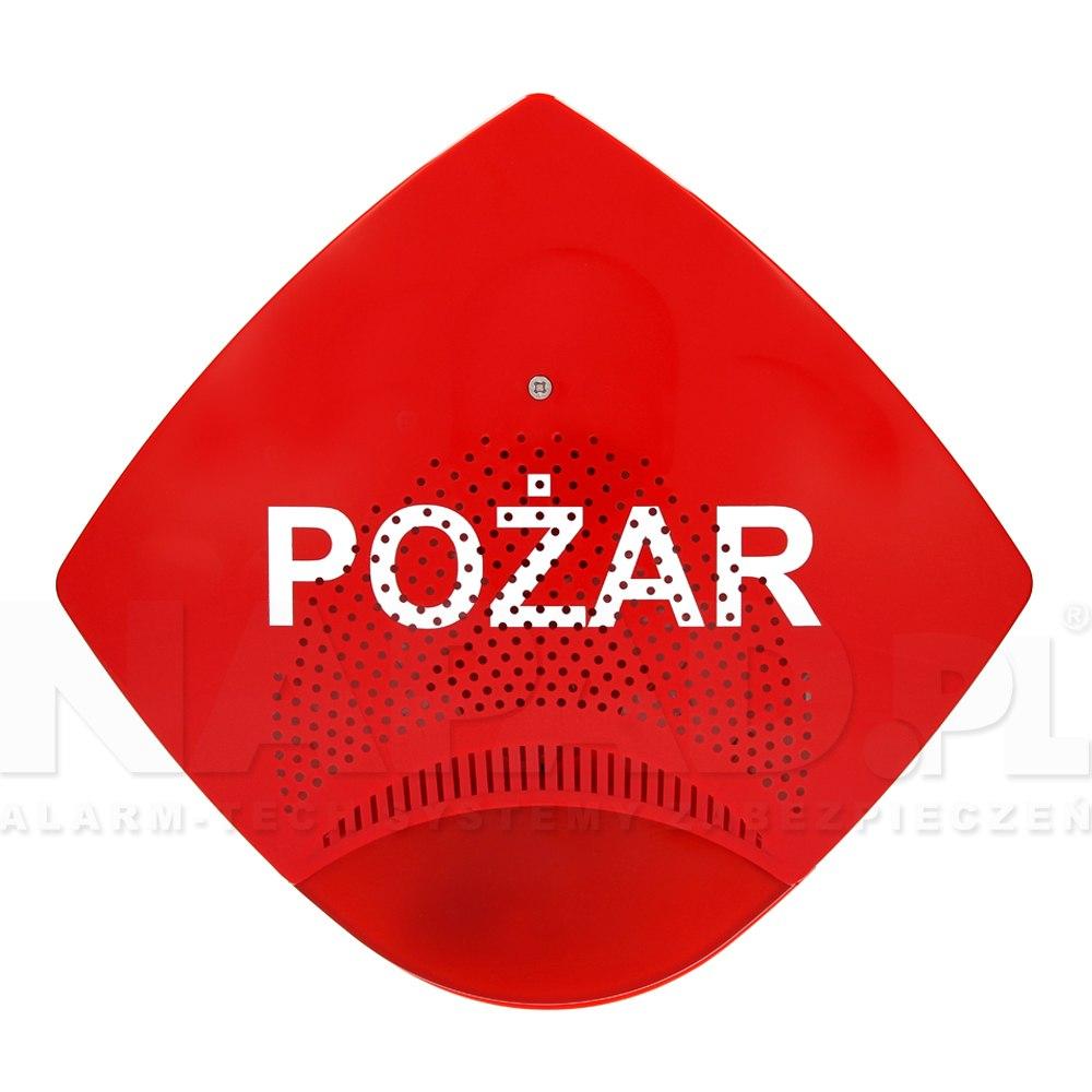 Sygnalizator akustyczno-optyczny SAOZ-Pk2