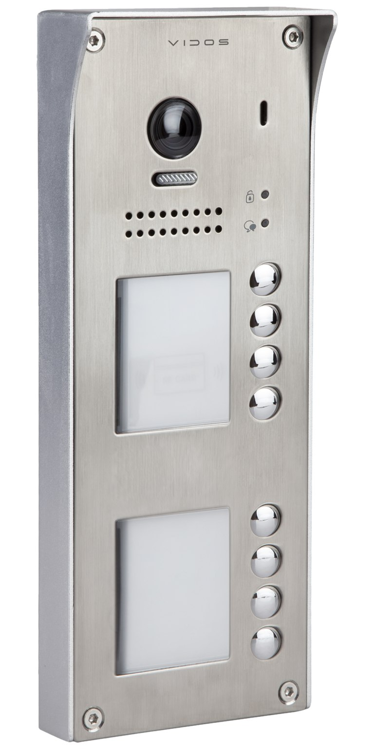 S1108A - Ośmioabonentowa stacja bramowa z czytnikiem RFID