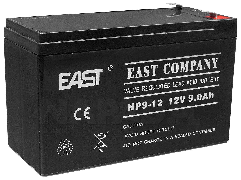 Akumulator 9Ah/12V NP9-12 T2