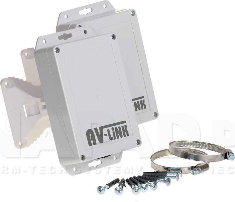 Zestaw do bezprzewodowej transmisji Analog HD AV-500-4HD