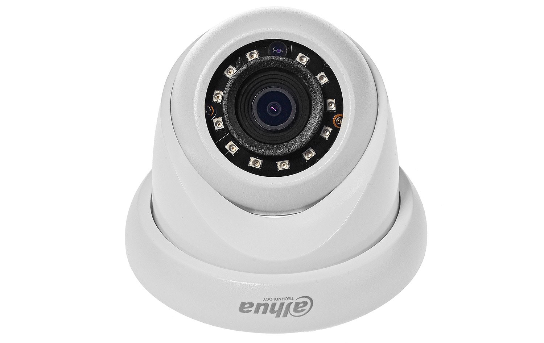 Przedni wygląd kamery dome IP Dahua.