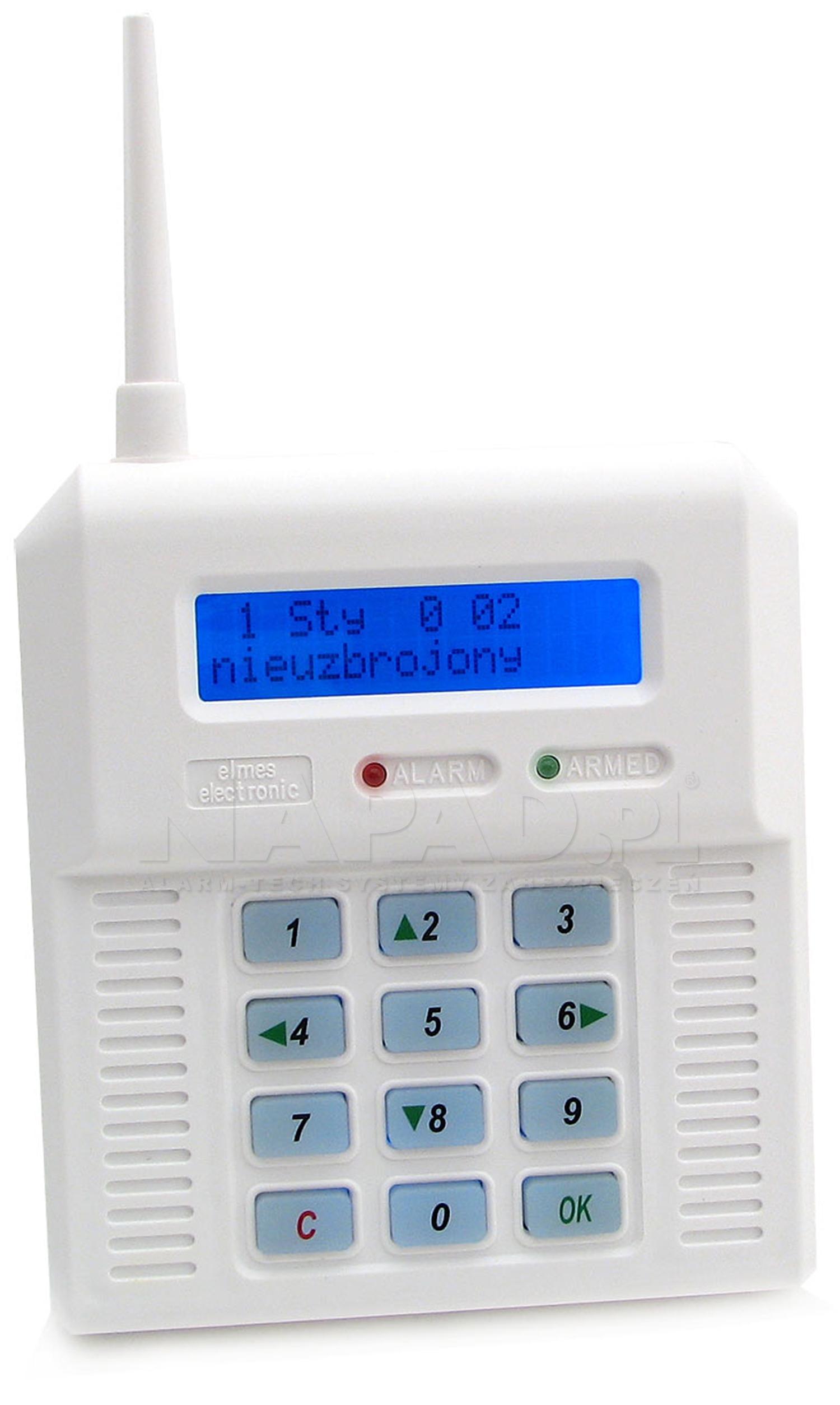 Bezprzewodowa centrala alarmowa CB32 BLUE ELMES