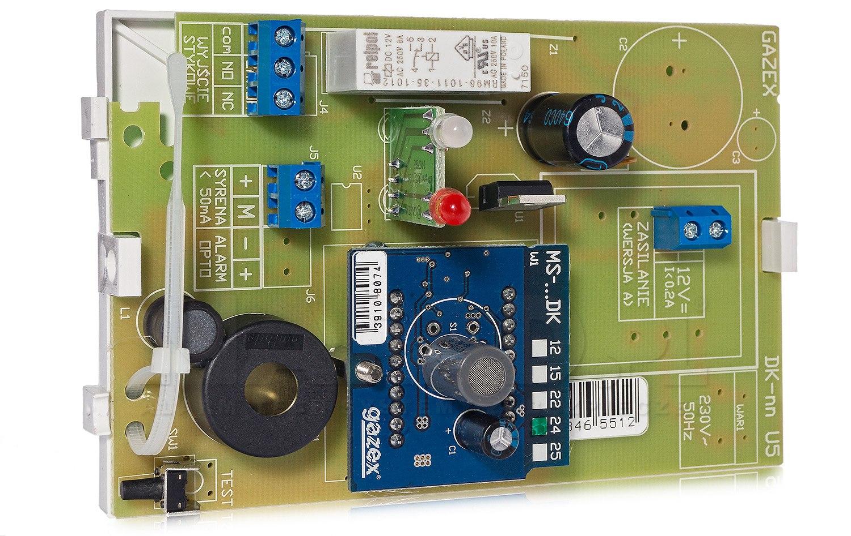 Czujnik tlenku węgla oraz gazu ziemnego DK-24.A GAZEX 12V DC