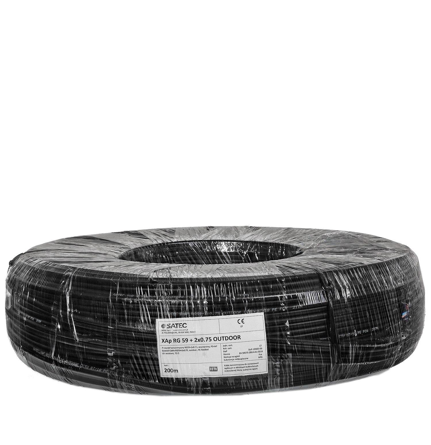 Kabel XYAP75+2x0,50