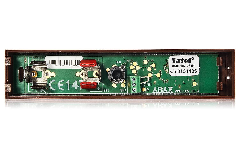 ABAX bezprzewodowa czujka magnetyczna z wejściem roletowym AMD-102 SATEL