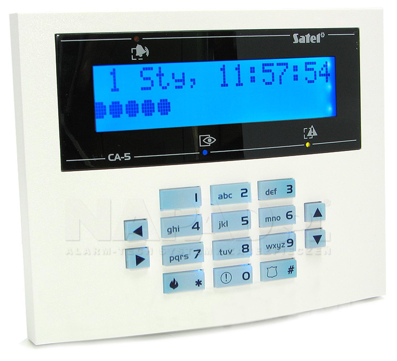 Klawiatura CA5 LCD L blue SATEL