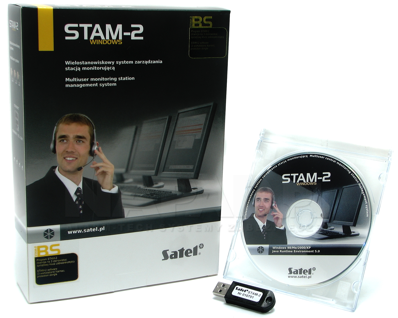 Program stacji monitorującej na PC STAM-2