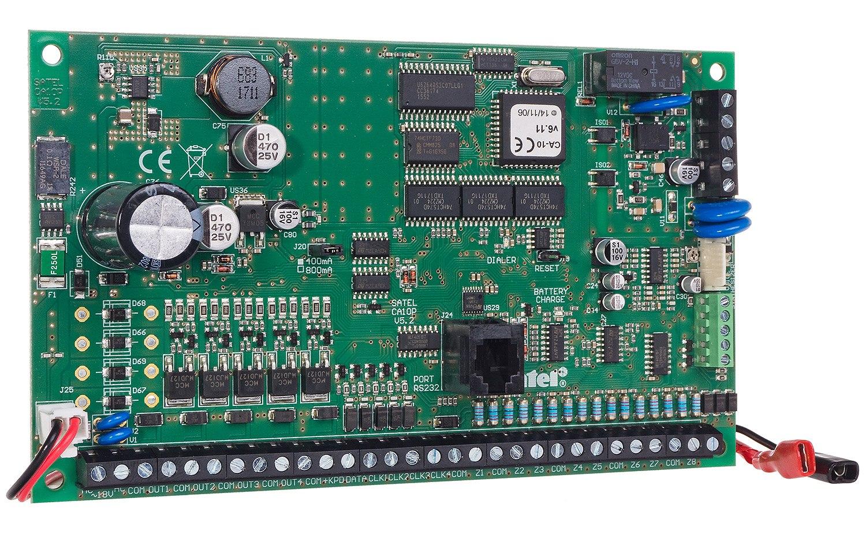Płyta główna centrali alarmowej CA-10 P