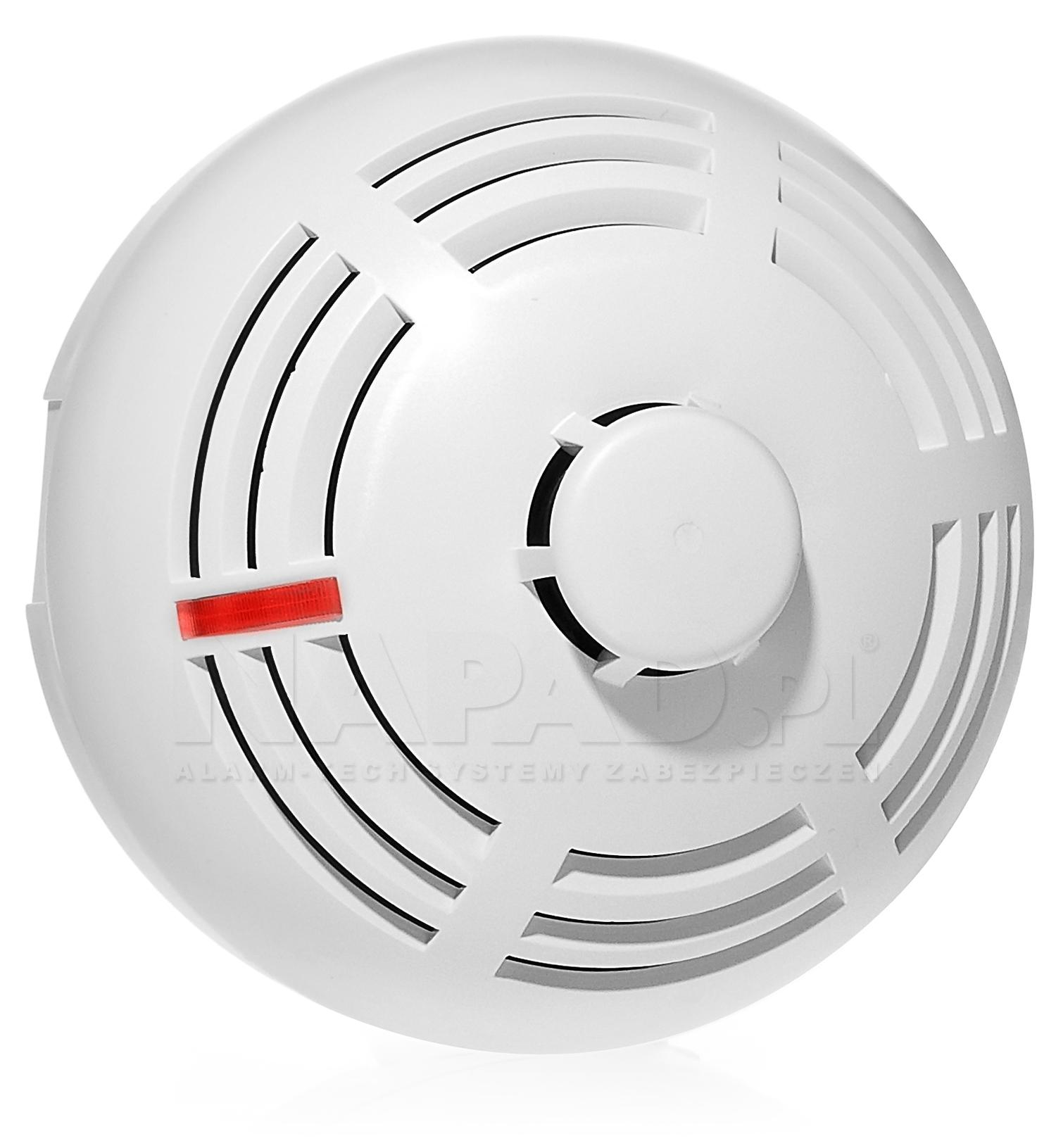 Punktowa wielodetektorowa czujka dymu i ciepła DMP-100