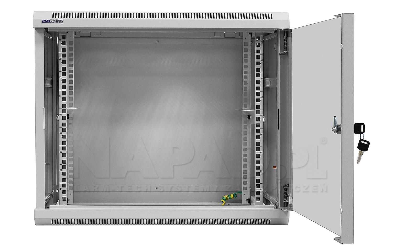 Szafa Rack 19'' 9U 450mm wisząca W6409