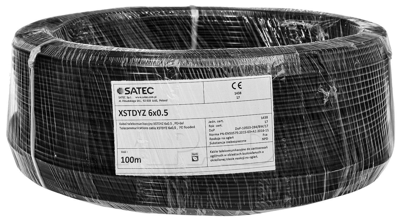 Przewód XSTDYz 6x0.5 mm żelowany
