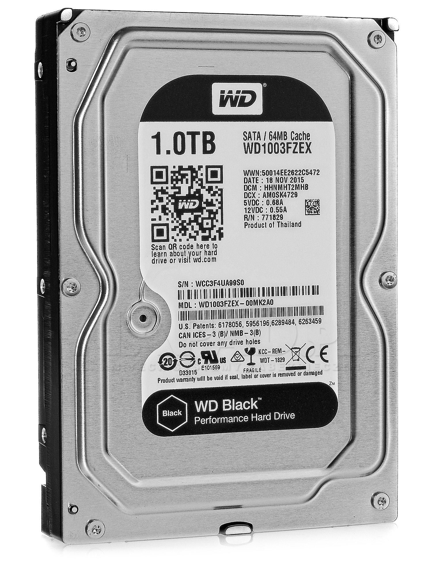 Dysk 1TB SATA III Western Digital Black