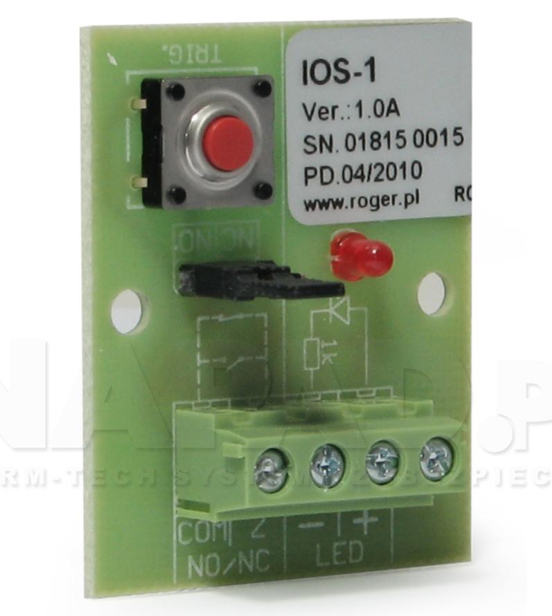 Moduł IOS1 - symulator We/Wy