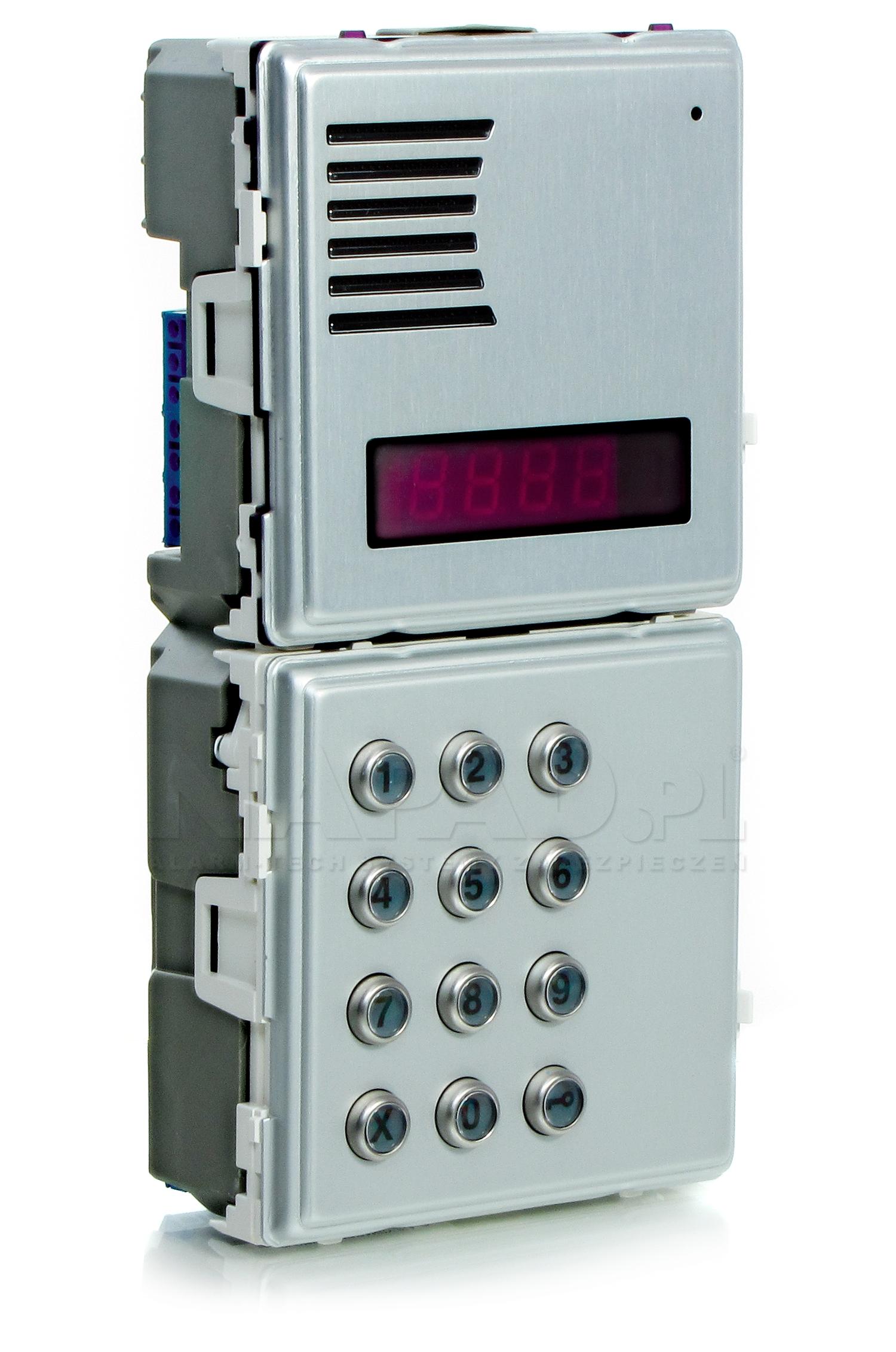 Panel z wyświetlaczem LED Matibus SE 1052/103 Sinthesi