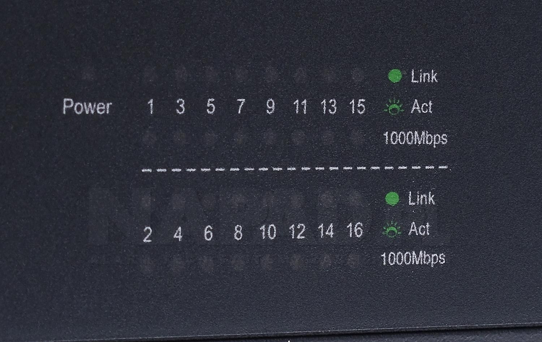 Switch gigabitowy, 16-portowy TL-SG1016