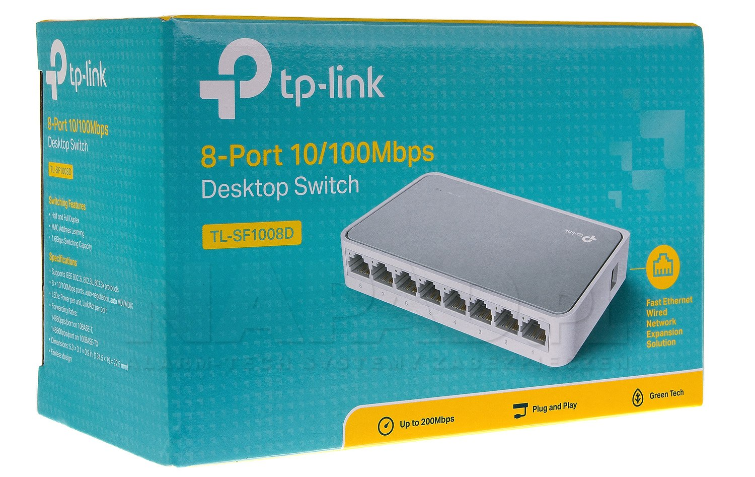 Switch 8-portowy TL-SF1008D TP-Link