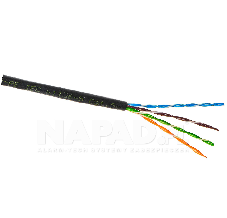 Kabel LAN U/UTP kat.5e Madex UV