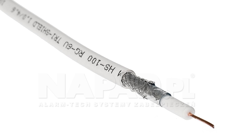 Przewód koncentryczny RG6U CU