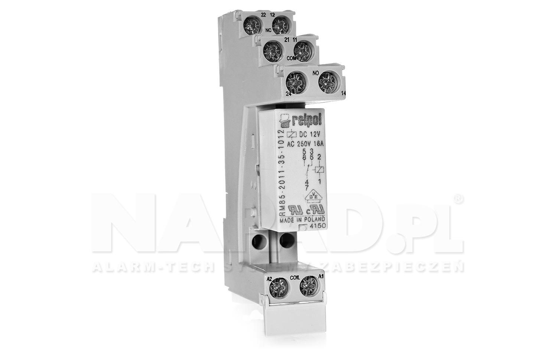 Moduł przekaźnikowy RM85 12V 1P