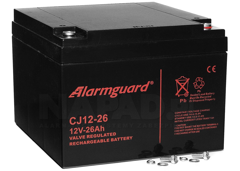 Akumulator 26Ah/12V CJ12-26