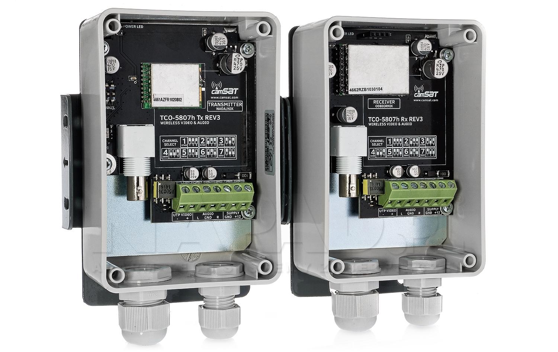 Hermetyczny zestaw CAMsat TCO5807h/300m