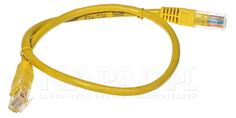 Patchcord UTP kat.5E - 0.5m