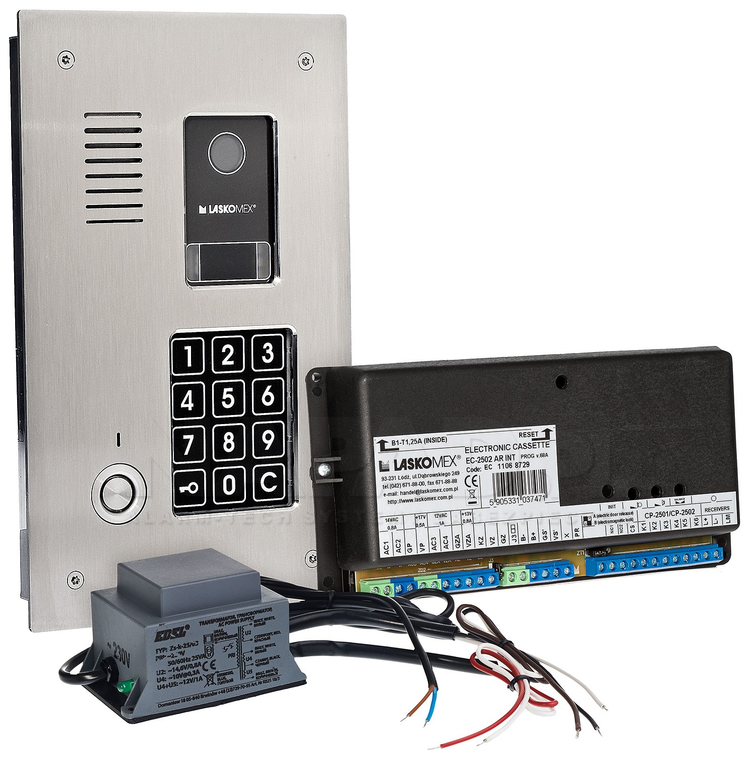 CD2523TP - Cyfrowy system domofonowy