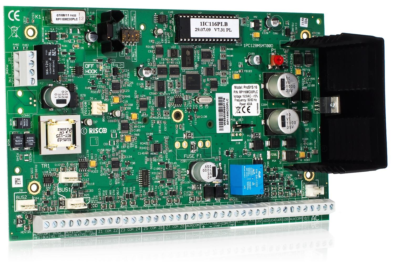 Płyta główna centrali GTX16 RP116MC00PLC ProSYS-16 Risco