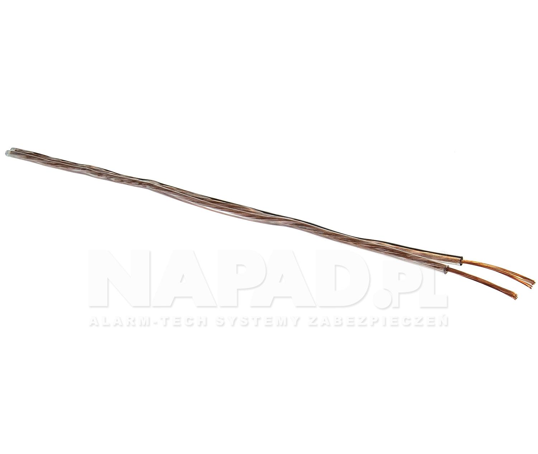 Przewód głośnikowy PGY-p (TLgY) 2x0.75mm