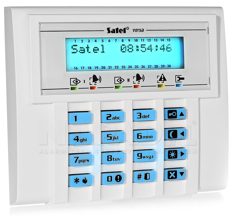 Manipulator VERSA-LCD-BL SATEL