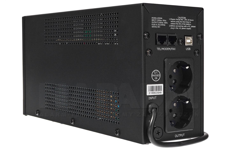 Zasilacz awaryjny UPS AT-UPS650-LED