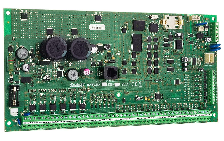 Płyta główna centrali alarmowej INTEGRA 128 Plus