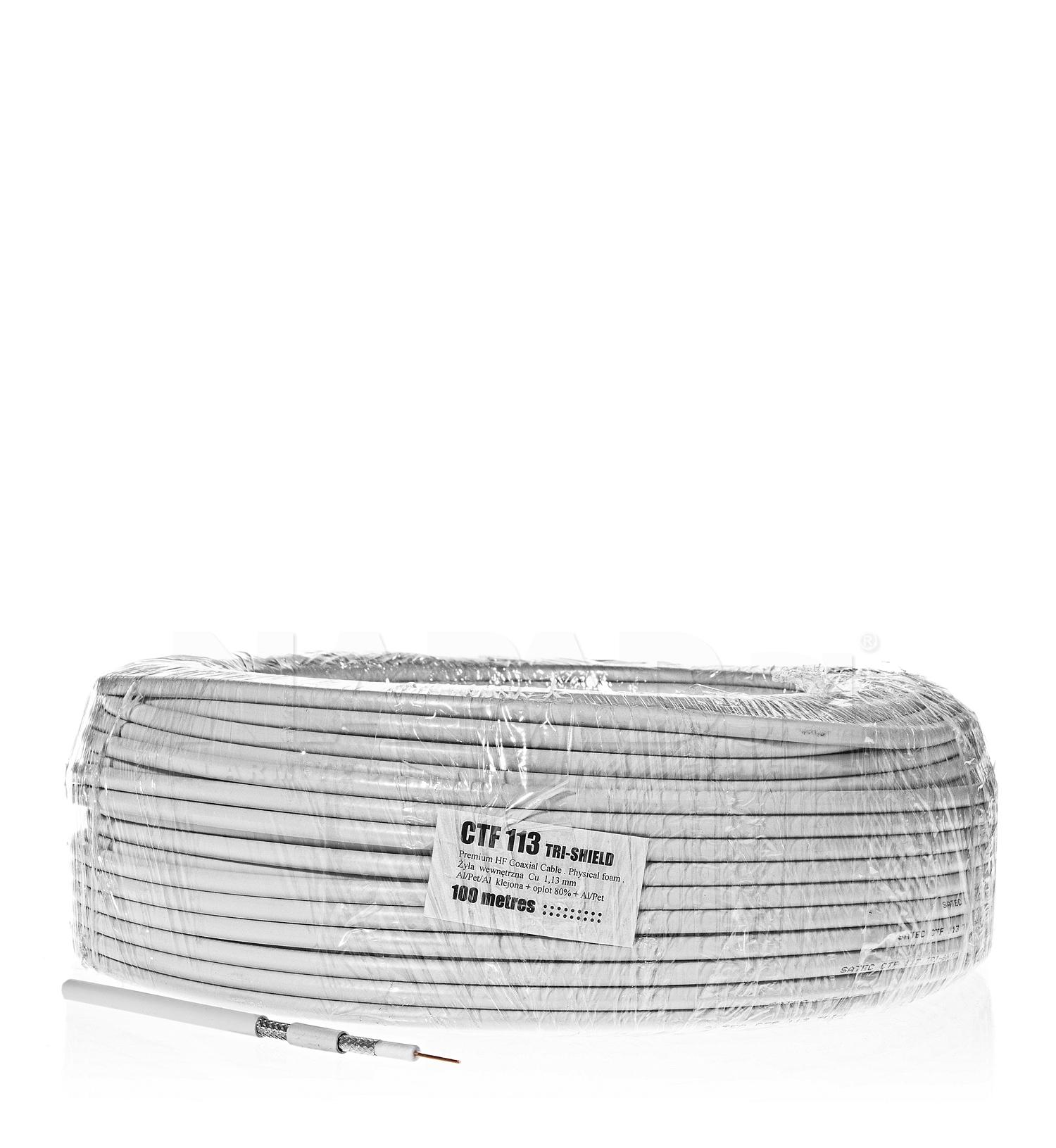 Kabel koncentryczny CTF-113 Tri-shield