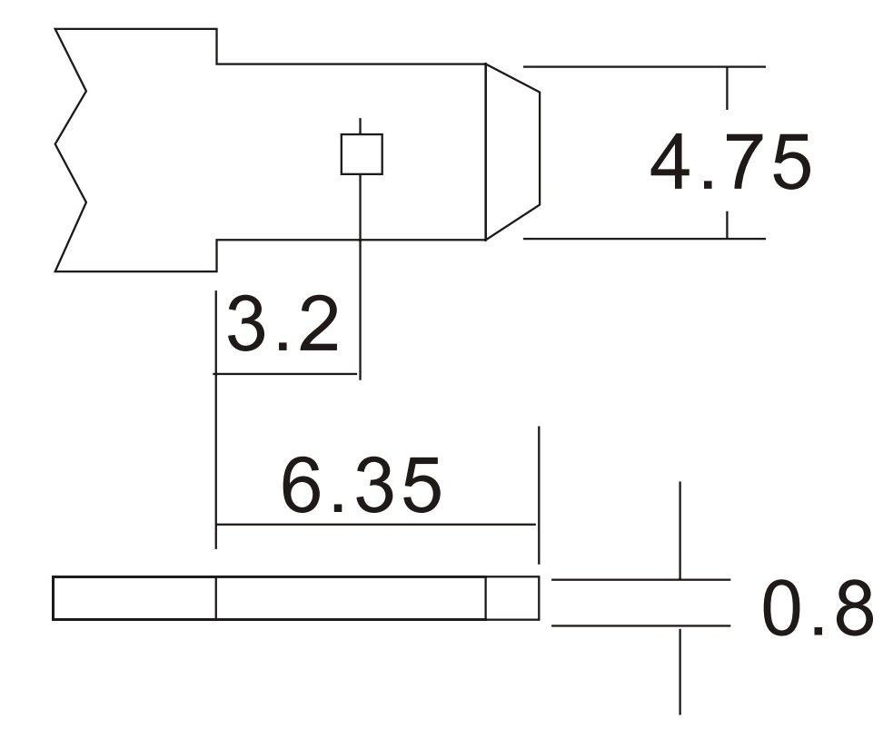 Akumulator 4.5Ah/12V CJ12-4.5 T1