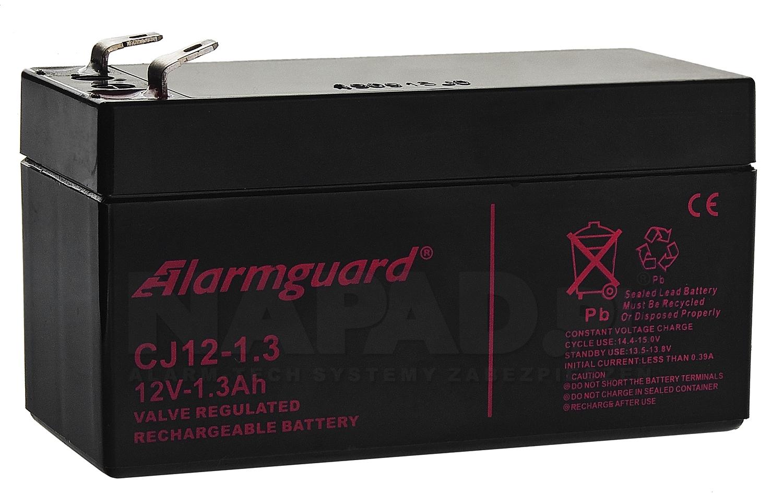 Akumulator 1.3Ah/12V CJ12-1.3 T1