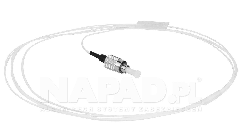 Pigtail optyczny FC/UPC SM 9/125 G652D 3m
